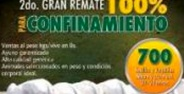 2do Remate 100% Confinamiento